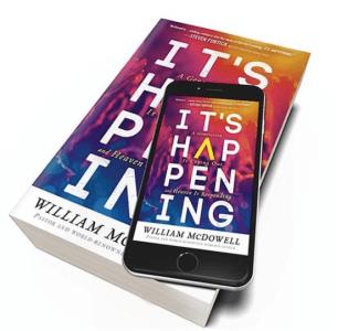 William McDowell Releasing His 1st Book 'It's Happening'