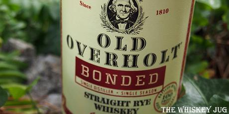 Old Overholt Bonded Label
