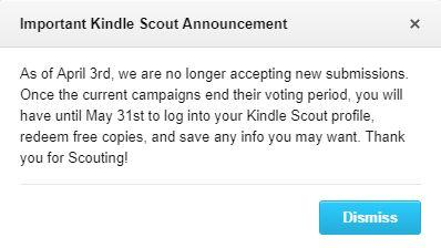 R.I.P. Kindle Scout
