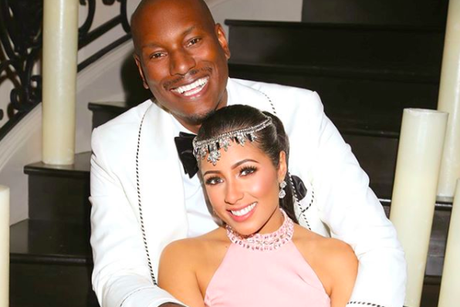 Tyrese & Wife Samantha Gibson Are Expecting A Baby Girl