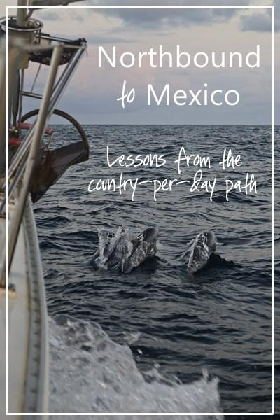 Northbound to Mexico: lessons from the country-per-day plan