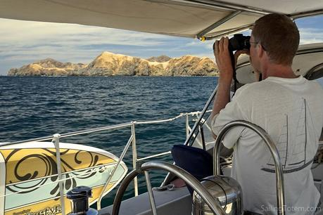 Scanning the Murcialagos islands