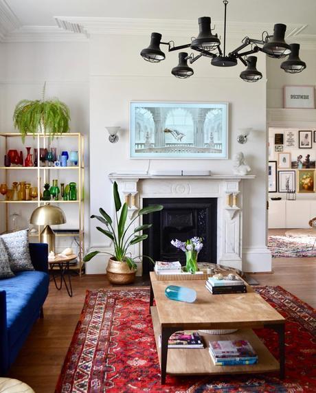 Lisa Dawson styling, Spacious and light living room