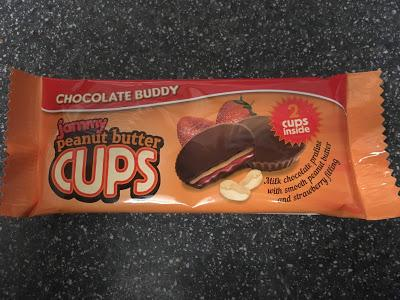 Today's Review: Chocolate Buddy Jammy Peanut Butter Cups