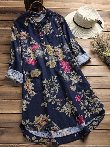 vintage long shirts for women