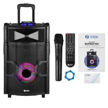 beatbox pro, portable DJ, zoook, zoook beatbox pro