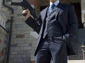 Daniel Craig 007: Navy Striped Suit, Part