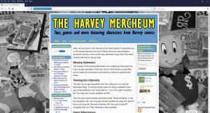 Harvey Mercheum home screen at 1920x1080 resolution before