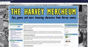 Harvey Mercheum home screen at 1920x1080 resolution after