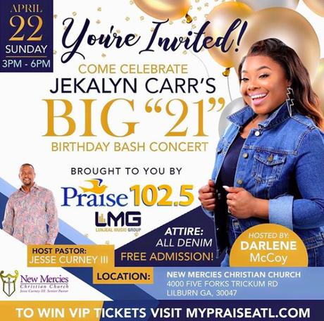 JeKalyn Carr 21st Birthday Bash In Atlanta April 22nd