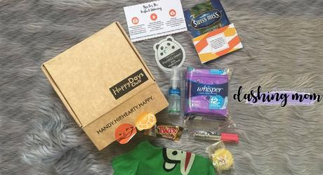 Survive your PMS days with a Happy Days Club box!
