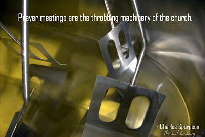 The prayer machinery of heaven #1