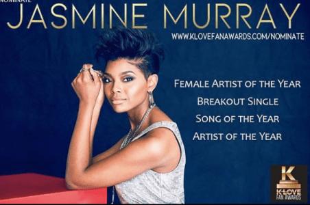 Former Miss Mississippi Jasmine Murray Up For Four K-Love  Fan Awards