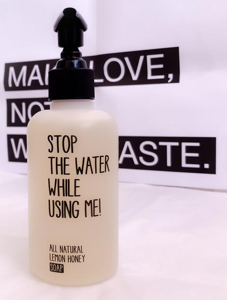 Make love, not waterwaste!