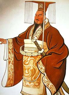 world's largest statue of China's first emperor  Qin toppled