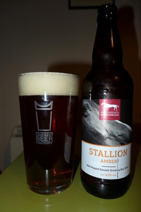 Tasting Notes: Nick Stafford's Hambleton Ales: Stallion Amber