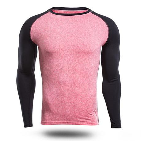 long sleeve compression shirt for summer