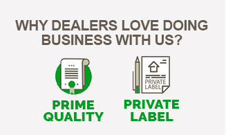 Product quality is the key property every smart dealer looks for