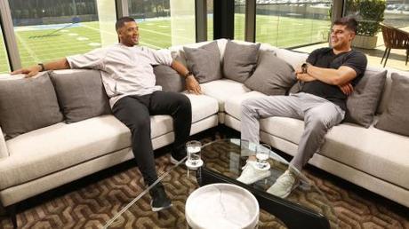 Russell Wilson's 'QB2QB' Mentoring Series Debuts April 17th on ESPN