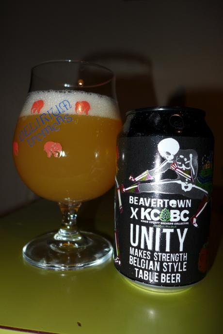 Tasting Notes:  Beavertown: KCBC : Unity Makes Strength