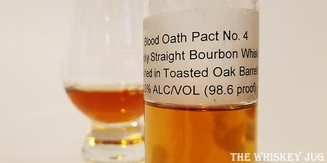 Blood Oath Pact 4 Label