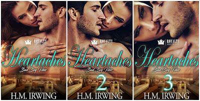 Promo Tour: Heartaches: Bad Boy Vibes Series by H.M. Irwing