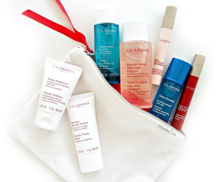 Clarins Super Beauty Gift • Which 4 will you choose?
