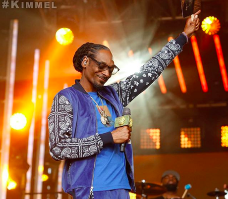 Snoop Dogg Perform Songs From 'Bible Of Love' on Jimmy Kimmel Live