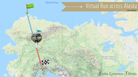 Virtual Run across Alaska