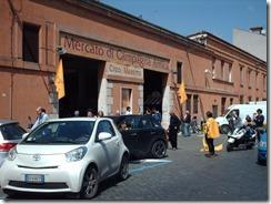 front of campagna damico roma