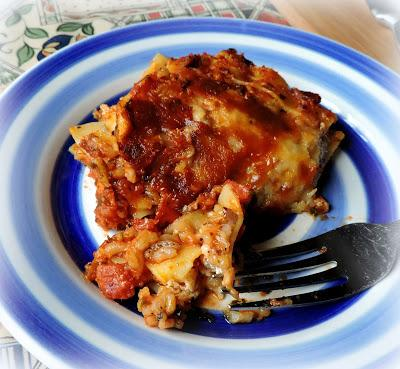 Brown Rice Lasagne