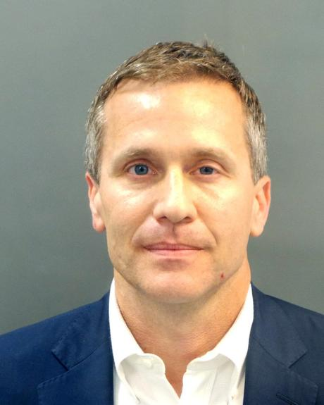 Image result for greitens mug shot