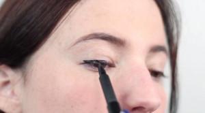 liquid eyeliner tutorial 3