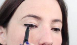 liquid eyeliner tutorial 4