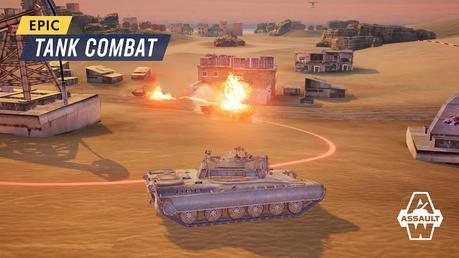 Armored Warfare: Assault | Apkplaygame.com