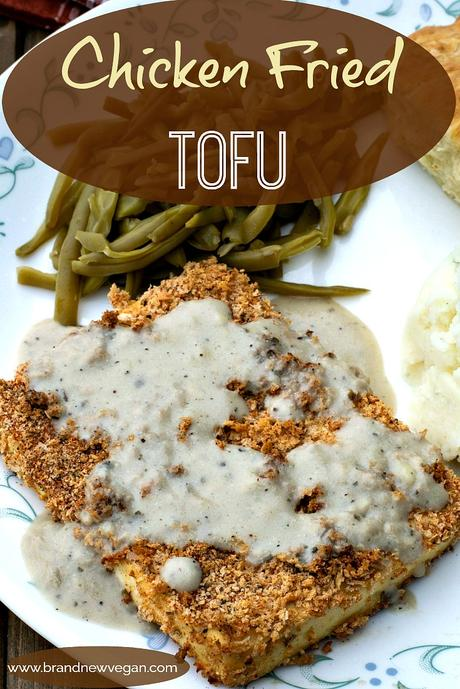 chicken fried tofu