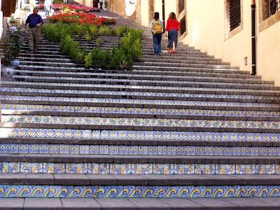 Sicily 8:  Caltagirone  [Sky Watch Friday]