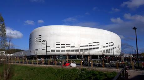 Inside Bordeaux Métropole Arena for the first time