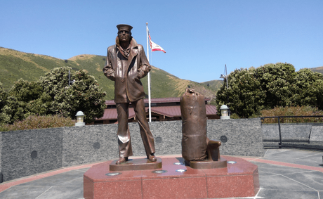 The Lone Sailor Monument