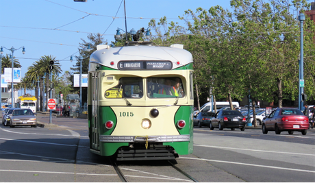 More of SFO's historic trams