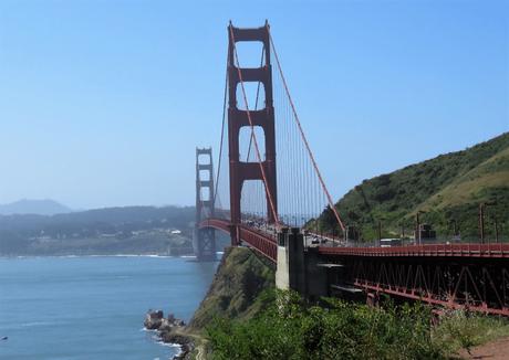 The iconic Golden gate bridge