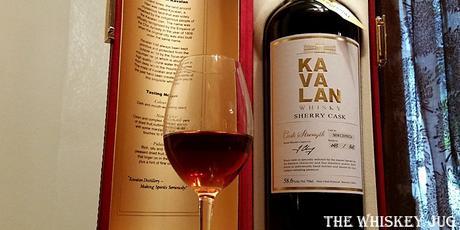 Kavalan Sherry Single Cask Label