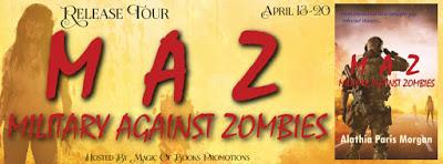 Release Tour: Military Against Zombies by Alathia Paris Morgan
