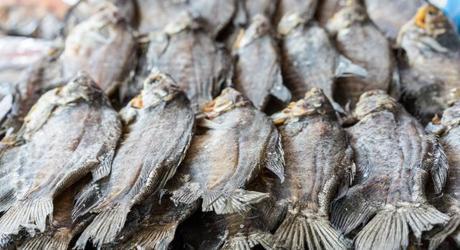 Halong Bay or Mekong Delta: Dried fish