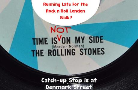 Friday is Rock'n'Roll London Day: Running Late? Here's How To Find Us