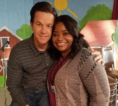 Mark Wahlberg & Octavia Spencer On The Set Of 'Instant Family'