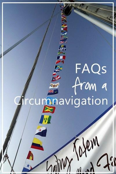 Circumnavigation: FAQs from Totem's circle of the globe