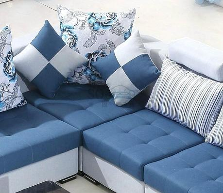 living room fabric sofas frnitre living room with leather and fabric sofas