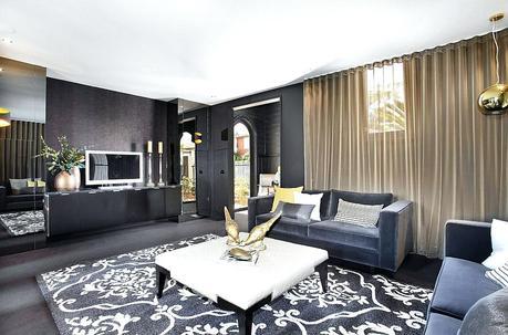 black white gray and gold living room livg black white gray and gold living room