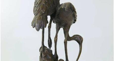 crane statues garden sculptures home design games
